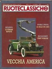12 1990 RUOTECLASSICHE 35 FERRARI SEPOLTE FERRY PORSCHE LA SALLE 303