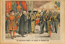 Lord Mayor of London Sir James Ritchie PRESIDENT ÉMILE LOUBET 1903
