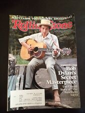 ROLLING STONE MAGAZINE NOVEMBER 20, 2014, Bob Dylan On The Cover