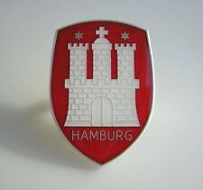 HAMBURG VW HOOD CREST BADGE VOLKSWAGEN BEETLE BUG COX ACCESSORY ...