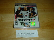 New FIFA SOCCER 12 game  - Sony Playstation 3 PS3 FACTORY SEALED