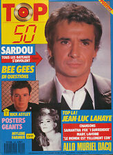 TOP 50 095 (28/12/87) DAVID HALLYDAY GUESCH PATTI CLERC MYLENE FARMR DAHO