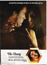 Publicité Advertising 1973 Eau de Toilette Ho Hang par balenciaga
