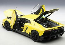 Autoart LAMBORGHINI AVENTADOR LP720-4 50th ANN YELLOW GIALLO MAGGIO 1/18 New!