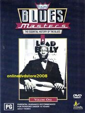 The ESSENTIAL HISTORY of BLUES MASTERS (Vol.1) MUSIC DVD (NEW & SEALED) Region 4