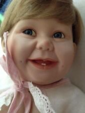 Ashton Drake Cute as a Button from the Barely Yours Collection Porcelain Doll