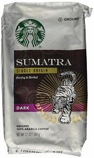 Starbucks Ground Coffee Dark Sumatra 12 oz. BUY 3+ GET FREE REFILLABLE POD