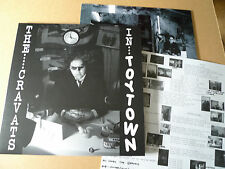 THE CRAVATS In Toytown LP Overground Records OVER 129LP Crass Cardiacs