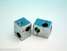 ONE Lab Aluminum alloy electroplating  square cube CROSS CLIP clamp holder Rod