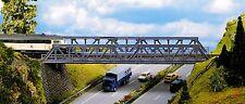 NOCH 21310 H0 Gitter-Brücke, Stahlträgerbrücke, 360 mm lang, Bausatz, Neu