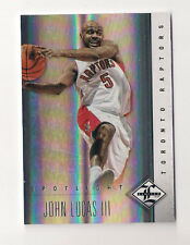 12/13 LIMITED RAPTORS JOHN LUCAS SPOTLIGHT PARALLEL CARD #39/49!!
