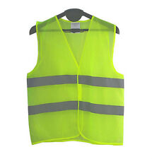 High Visibility Vest Reflective Stripes Sports Cycling Running Walking Dress 1pc