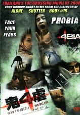 4BIA aka Phobia DVD - Thailands top grossing horror movie of 2008 - Region 0