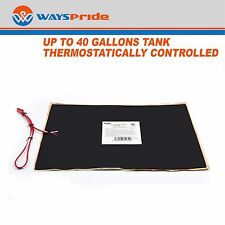 "12"" x 18"" RV 12V Trailer Water Holding Tank Automatic Thermostat Heater Pad"