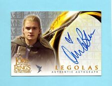 Lord of the Rings Two Towers Legolas Orlando Bloom Heart Variant Autograph Auto