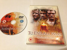 TO END ALL WARS DVD - Robert Carlyle - Kiefer Sutherland - UK RELEASE REGION 2