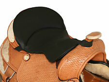 New Black Western GEL Seat Cushion Trail Riding Saddle Pad Relieves Back Pain!