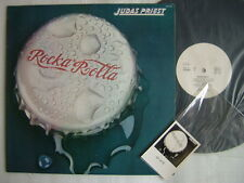 PROMO WHITE LABEL / JUDAS PRIEST ROCKA ROLLA  / WITH PROMO ONLY MONOCHROME