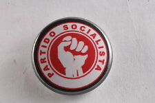 "Portugal Portugese Socialist Party Carnation Revolution 1"" Button Badge Pin"