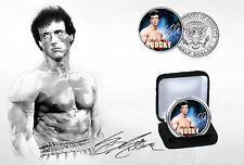 Sylvester Stallone - Rocky Balboa Limited Edition JFK Half Dollar Coin & COA