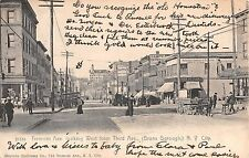 1906 Stores Tremont Ave. looking West from 3rd Ave. Bronx NY post card