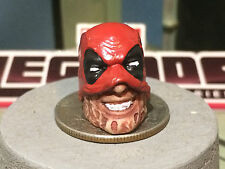 MARVEL LEGENDS CUSTOM PAINTED 2016 TACO DEADPOOL HALF MASKED 1:12 HEAD CAST