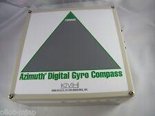 KVH AZIMUTH DIGITAL GYRO COMPASS AND INCLINOMETER PART # 02-0732, 02-0753