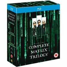 The Complete Matrix Trilogy Blu-Ray Brand New