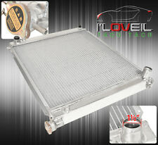 MT DUAL CORE ALUMINUM RADIATOR FOR 90-96 NISSAN 300ZX Z32 TT TWIN TURBO