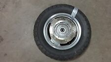 2001 Honda Shadow Sabre VT1100 H1127. rear wheel rim 15in with rotor
