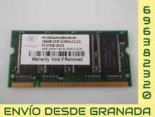 MEMORIA RAM SO-DIMM 256 MB PC2700S NANYA NT256D64SH8BAGM-6K #5
