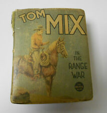 1937 TOM MIX In The Range War BIG LITTLE BOOK Hal Arbo VG-