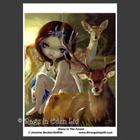 **DIANA IN THE FOREST** Fantasy A4 Photo Art Print By Jasmine Becket-Griffith