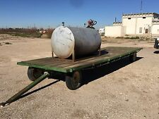24' Trailer With 500 Gallon Diesel Tank W/ 12V DC Pump