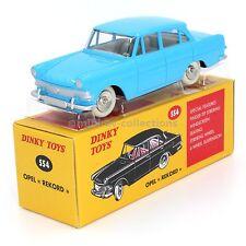 Atlas Dinky Toys 554 Opel Rekord bleue