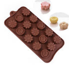 15- Rose Flower Cake Chocolate Pan Candy Silicone Baking Mold mould Tool