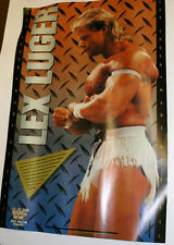 Federación de Lucha Vintage Cartel Original Sin Enmarcar Lex Luger de acero 14X21IN