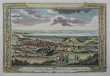 Edinburgh - Seltene Stadtansicht von G.A. Baldwyn - Originaler Kupferstich 1794