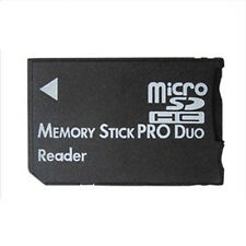 Micro SD SDHC TF to Memory Stick MS Pro Duo PSP Card Reader Adapter Converter UK