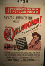 Oklahoma Orig, 1sh Movie Poster R63 Gordon MacRae, Shirley Jones, musical!