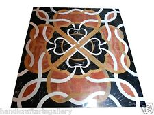 "Size 36""x36"" Marble Dining Center Table Top Inlay Mosaic Pietradure Arts Decor"