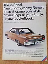 1966 AMC American Motors Rambler American Rogue & Rambler Classic Rebel