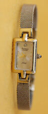 Working Condition Ladies Gold Tone Armitron Diamond Wrist Watch