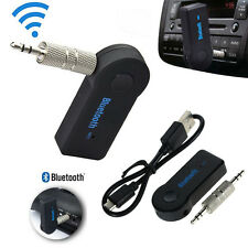 3.5mm Wireless Bluetooth AUX Audio Stereo Music Speaker Car Auto Receiver  Mic