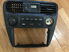1998 1999 2000 99  ACCORD AC HEATER MANUAL BEZEL TEMPERATURE CLIMATE CONTROL