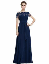 Formal Prom Evening Dress Long Gown Party Ball Cocktail Bridesmaid Chiffon Dress