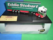 OXFORD DIECAST 1/76 SCALE SCANIA HIGHLINE CURTAINSIDE EDDIE STOBART SHL01CS M/B