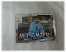 2014 Panini Prizm World Cup Base Net Finders Luis Suarez Uruguay #24