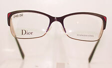 CHRISTIAN DIOR CD3780 8MP CLASSIC LADIES METAL GLASSES FRAME MATT PINK AND BLACK