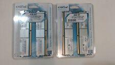 2 Crucial 4GB (2 x 2GB) 240-Pin DDR2 FB-DIMM ECC Fully Buffered DDR2 800